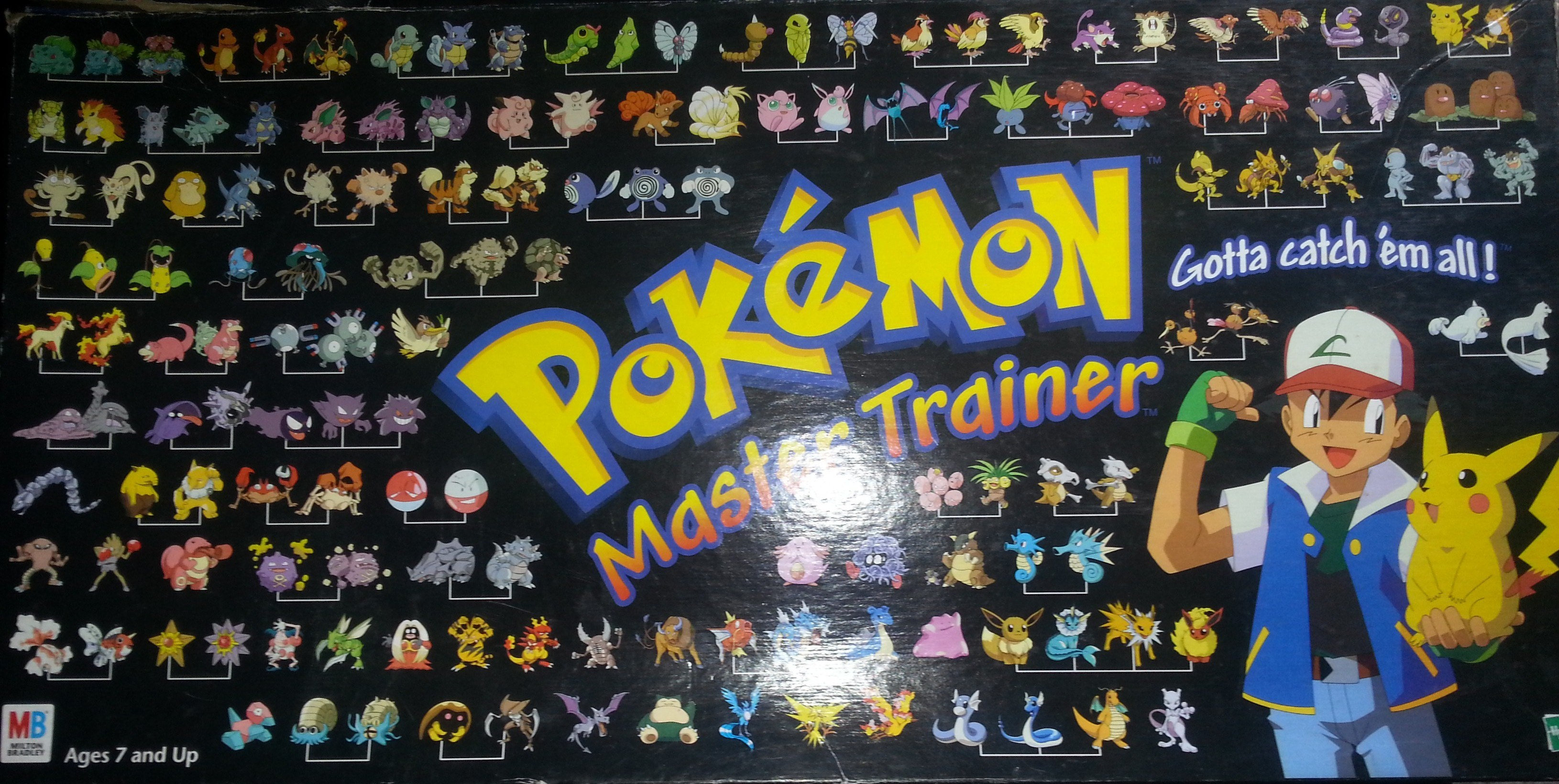 Pokemon Master Trainer Dice Squad